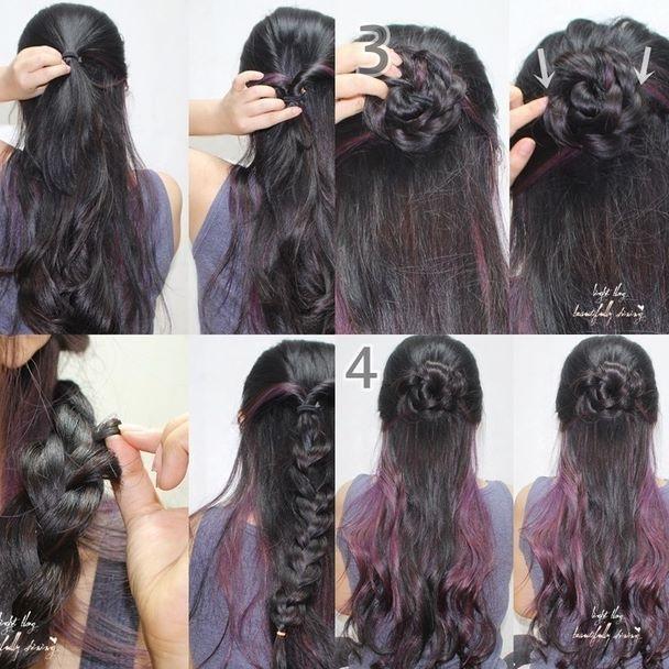 집에서 혼자하는 셀프헤어스타일링! 장미 꽃 머리 땋는 방법이에요 은근 간단하답니다 !! #셀프헤어 #셀프헤어스타일링 #장미머리 #장미머리땋기 #꽃머리땋기 #머리땋기 #긴머리 #긴머리땋기 #혼자머리땋기 #예쁜머리땋기 #셀프머리땋기 #selfhair #hairstyle #rose #rosehair #plaitedhair