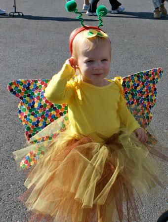 75 cute homemade toddler halloween costume ideas toddler halloween 75 cute homemade toddler halloween costume ideas beautiful butterfly from the very hungry caterpiller solutioingenieria Images