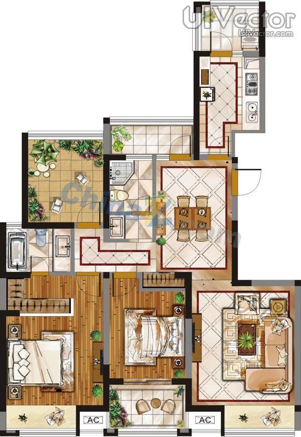 interior plan - Google-sk