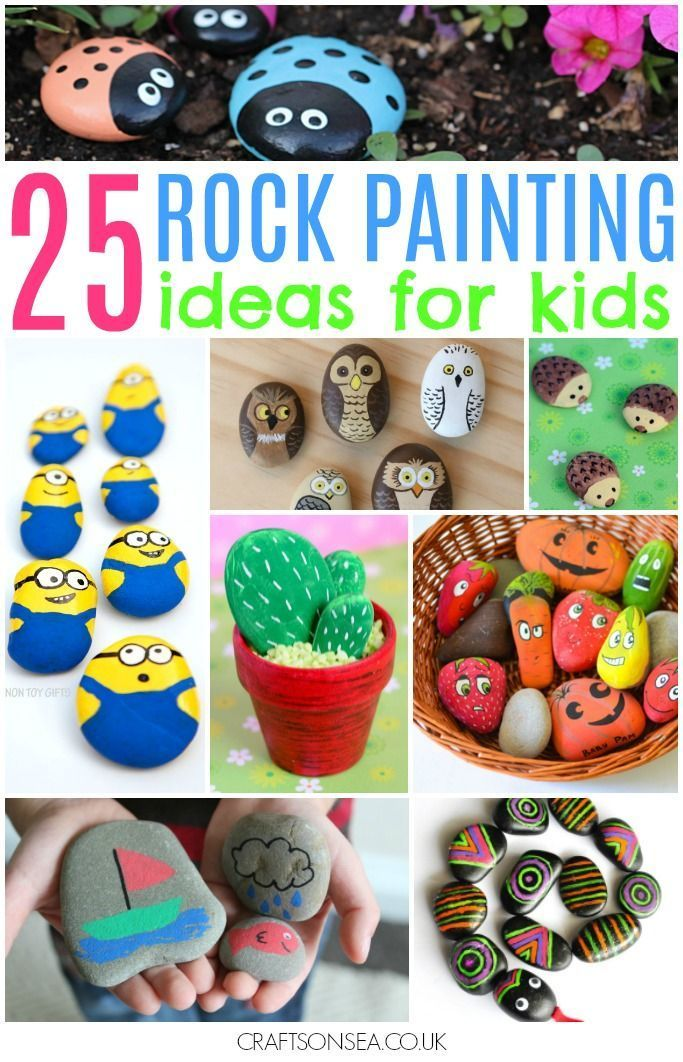 Rock Painting Ideas For Kids 25 Awesome Ideas Painted Rocks