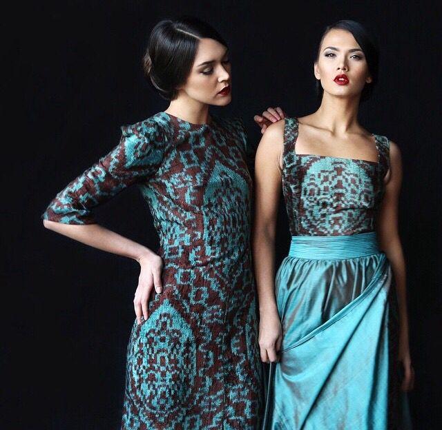 Узбекские модные платья фото