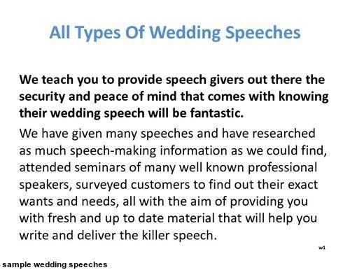 effective speeches examples