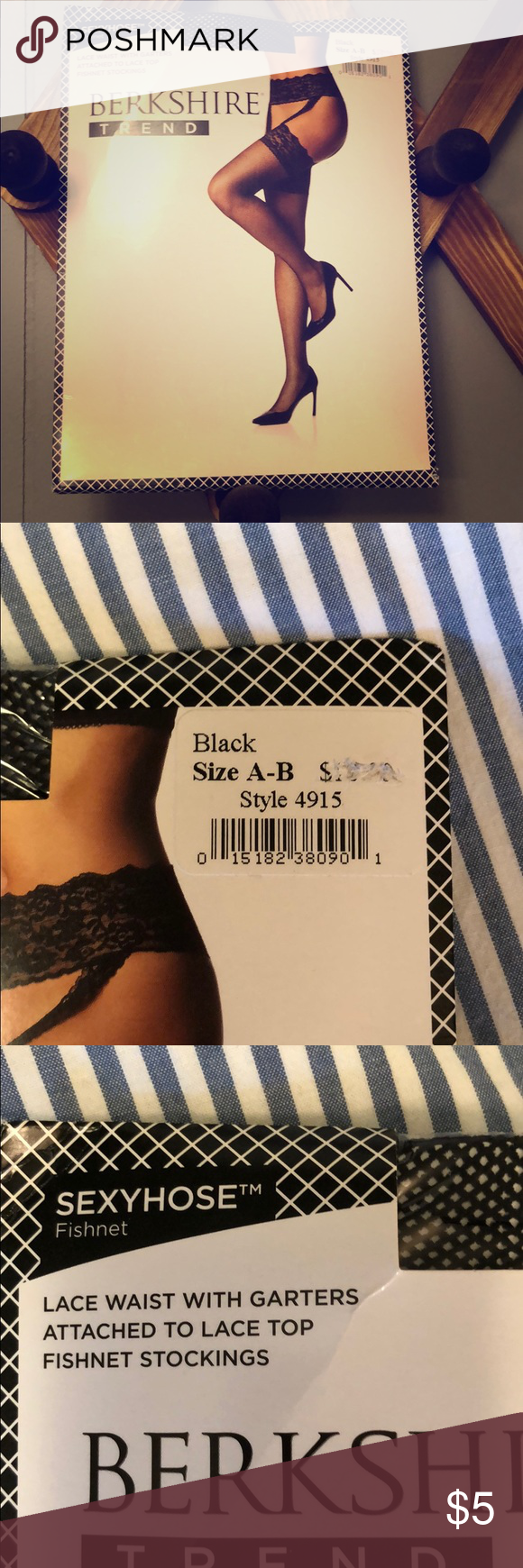 aa36e5c90c796 Berkshire fishnet stockings. Berkshire trend sexyhose fishnet stockings.  New   never worn. These