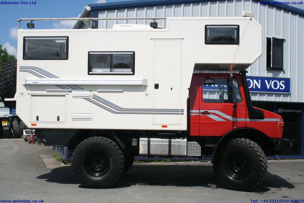 Ready To Go U1300l Camper Expedition Vehicle With Fast Axles And