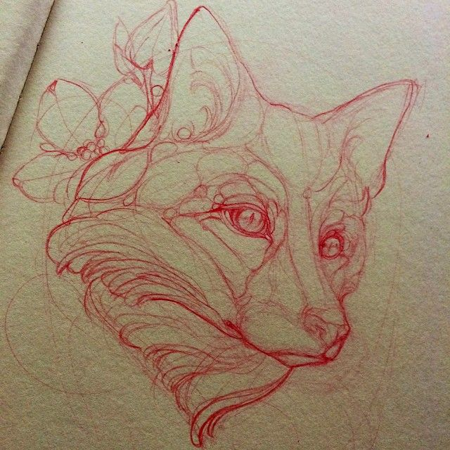 M1ssjuliet Fox Tattoo Sketch Fox Tattoo Red Fox Tattoos