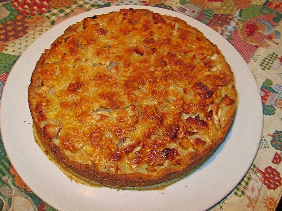 Apfelkuchen mit Mandelguss 37