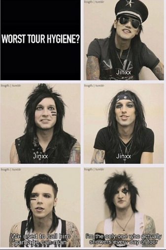 Hahaha! Jinxx is garbage can man....  http://www.youtube.com/watch?v=_bJ2Ht6bF2E=PLoAt4eOxB28vrtyZAtYTDTD5SWhYlt12-=73