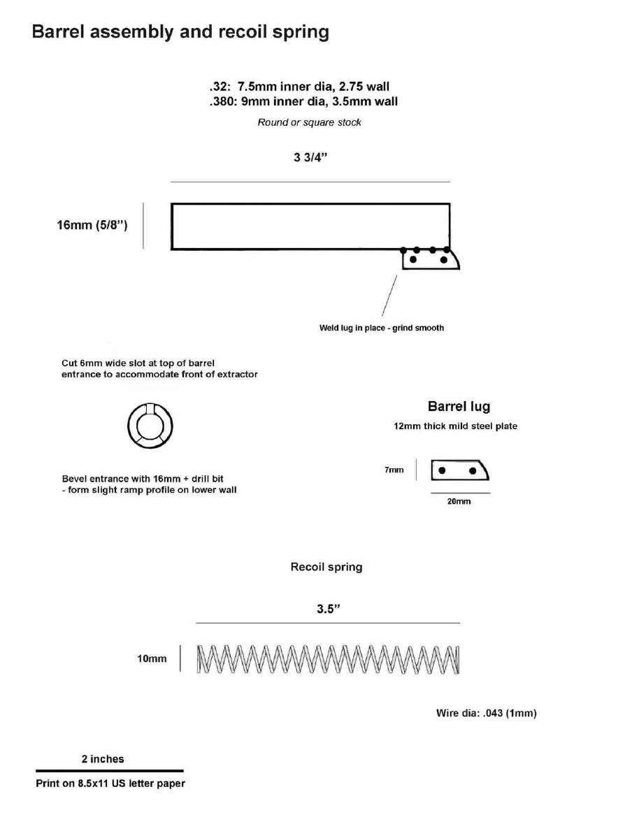 Mk 3 Diy Sheet Metal Self Loading Pistol Professor Parabellum In 2020 Sheet Metal Mild Steel Sheet Diy Guns