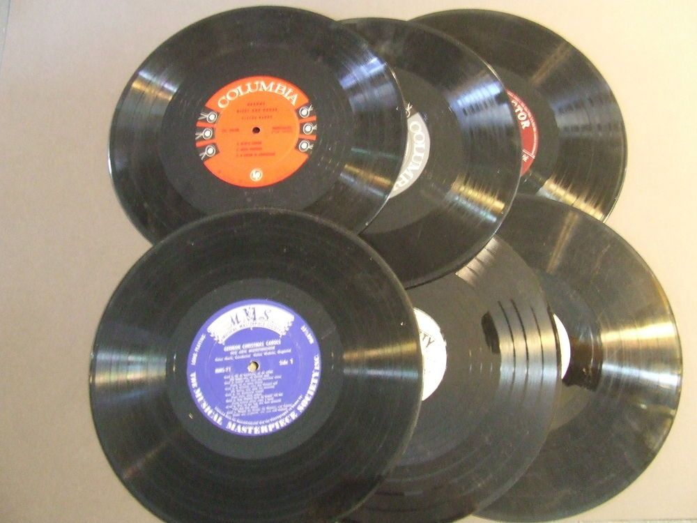 Lot Of 10 Vinyl 10 Inch Record For Crafts Decorations Decor Crafts Diy Vinyl Vinyl