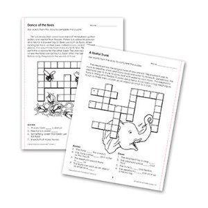 Comprehension Crosswords Gr. 2 by Edupress. $4.38