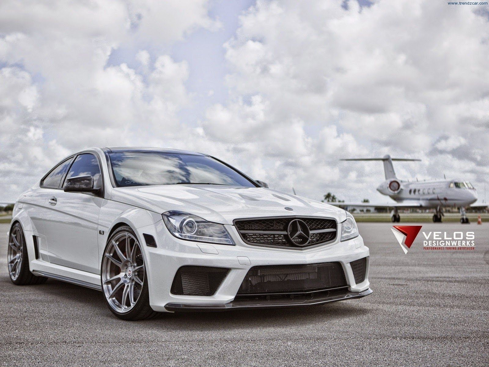 mercedes benz c63 amg black series by velos designwerks - Mercedes Benz C63 Amg Black Series White