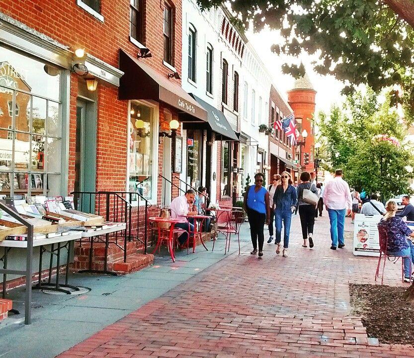 Georgetown side walk