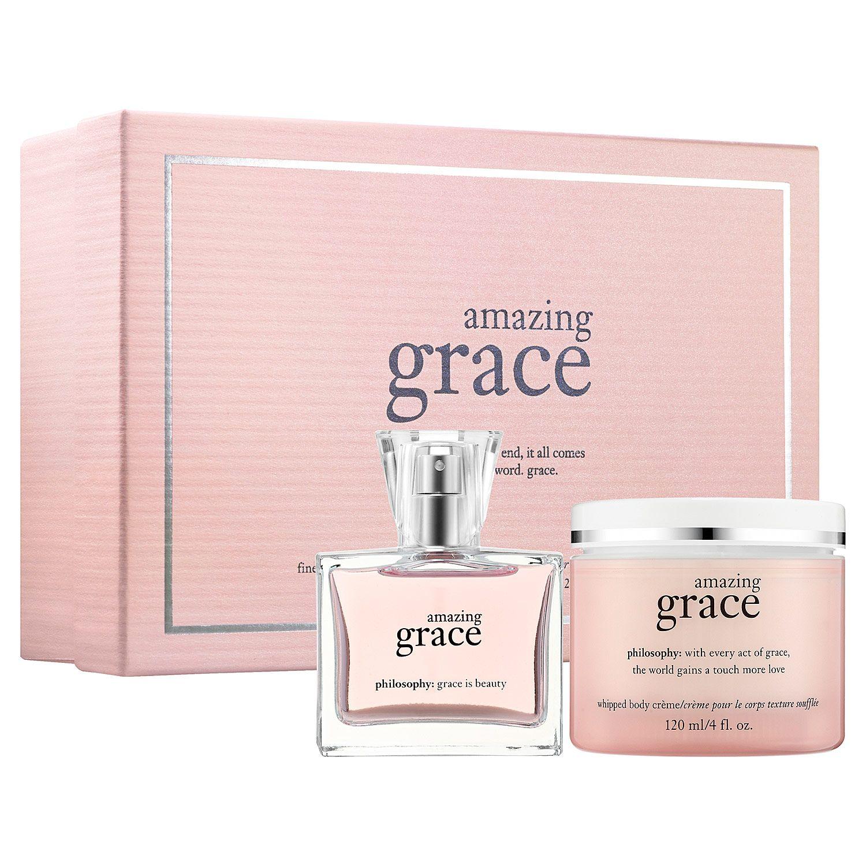 Amazing Grace Fine Perfume Gift Set Philosophy Sephora Perfume Gift Sets Perfume Gift Philosophy Amazing Grace