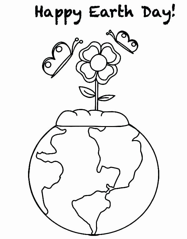 Earth Day Printable Coloring Pages New Earth Day Coloring Pages Pdf At Getcolorings Earth Day Coloring Pages Earth Day Worksheets Earth Day Activities
