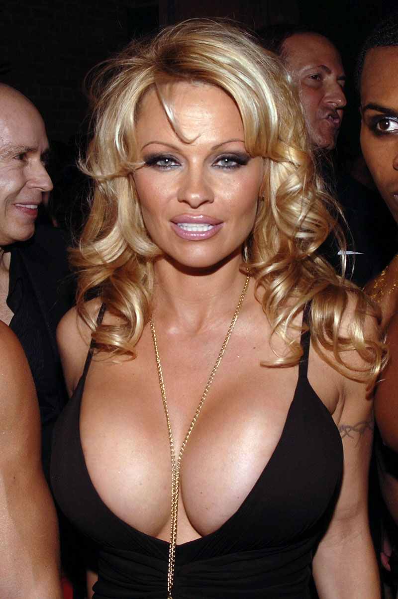 50 Times Pamela Anderson's Cleavage Could Not Be Contained ...