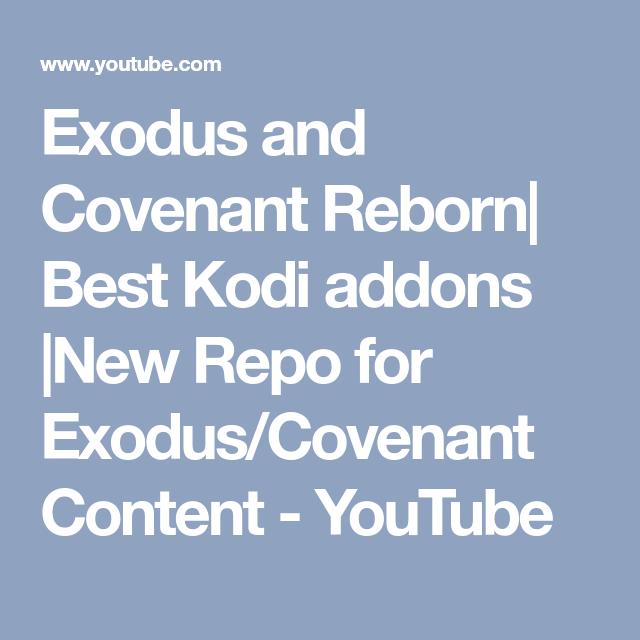 exodus new repo