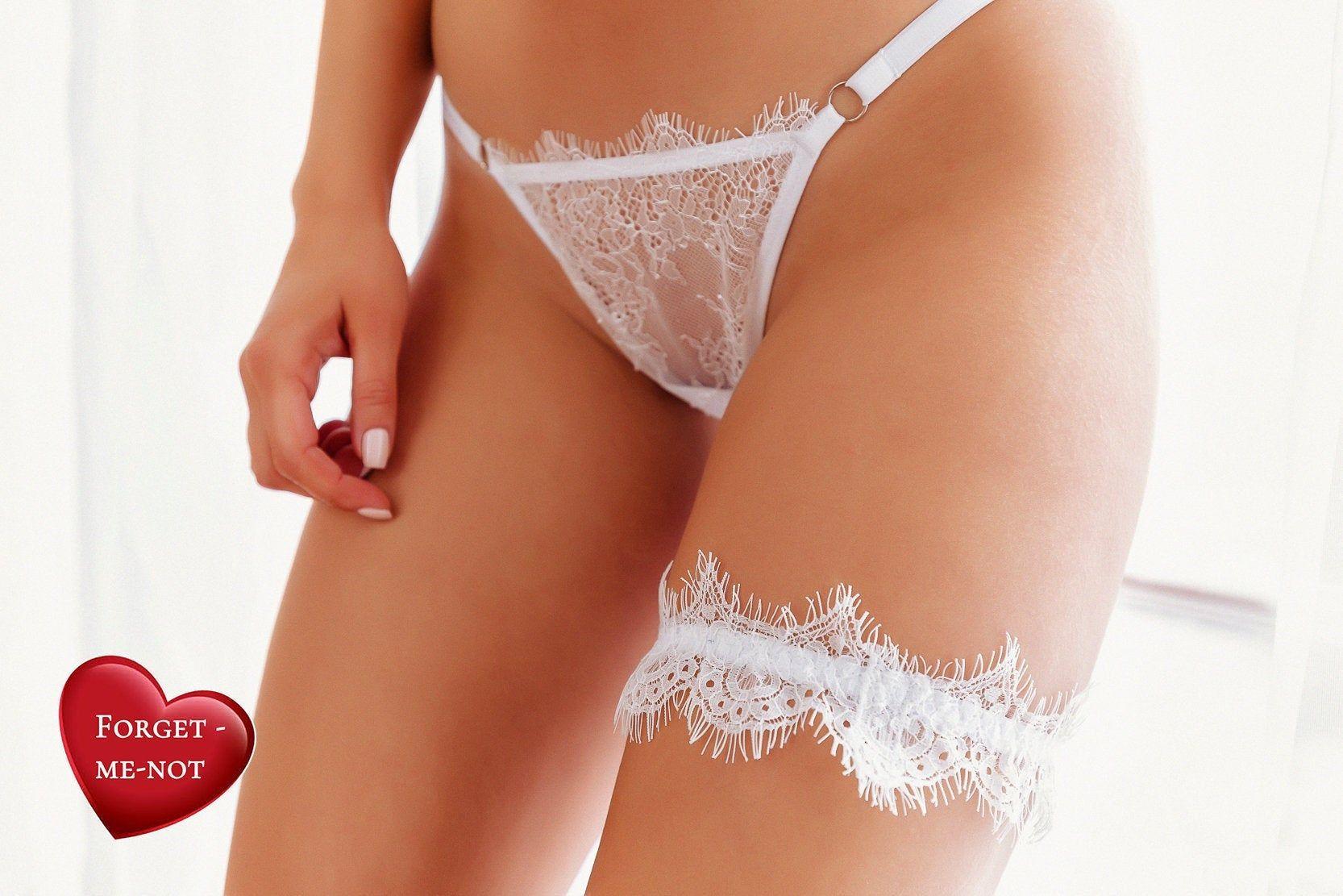 White Lingerie Bridal Lingerie Set Wedding Lingerie Set Bridal Lingerie Lace Bra Wedding Panties Cotton Panties Sheer Bra