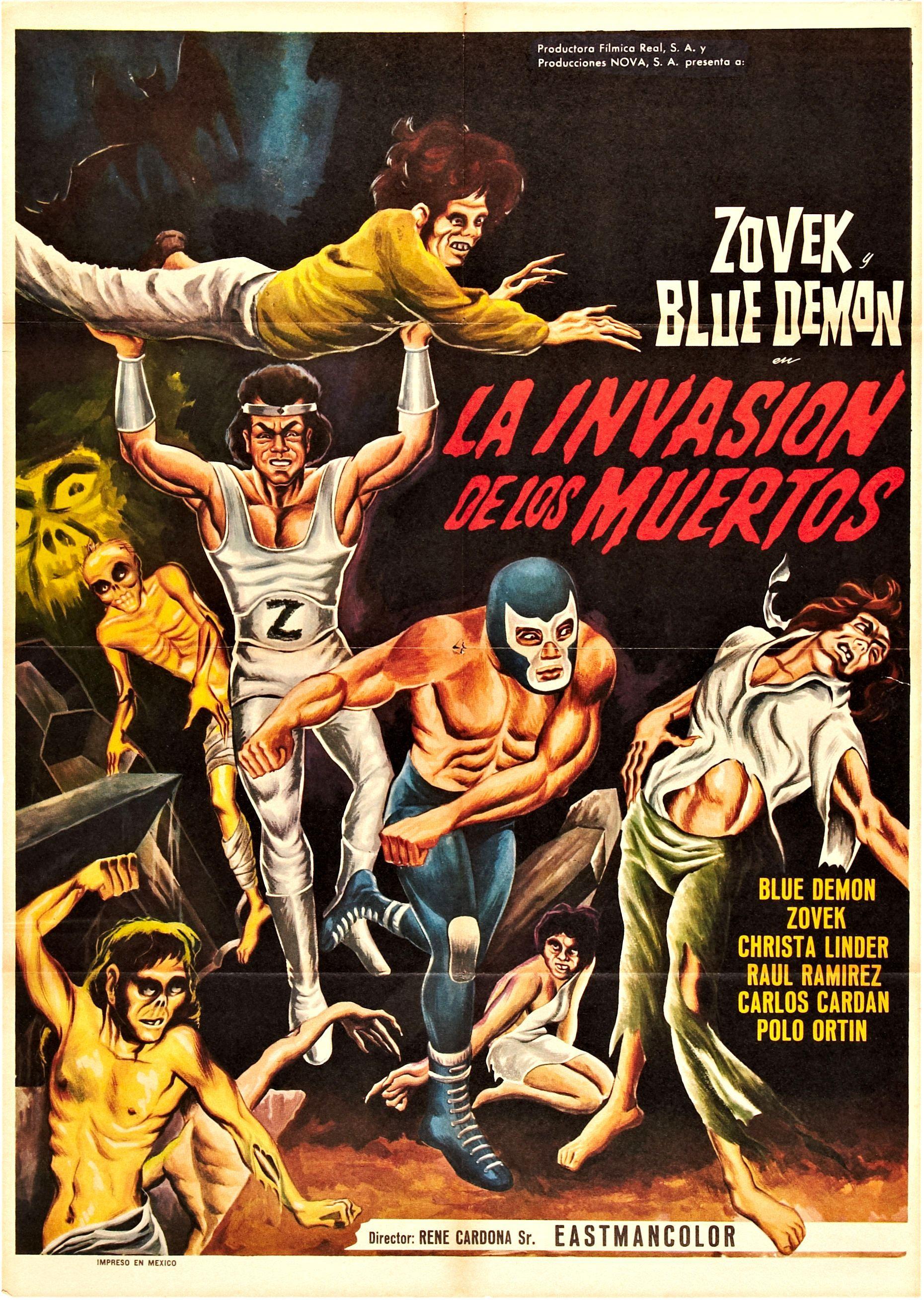 La invasión de los muertos   Lucha Monstruo   Pinterest   Cosmic and ...