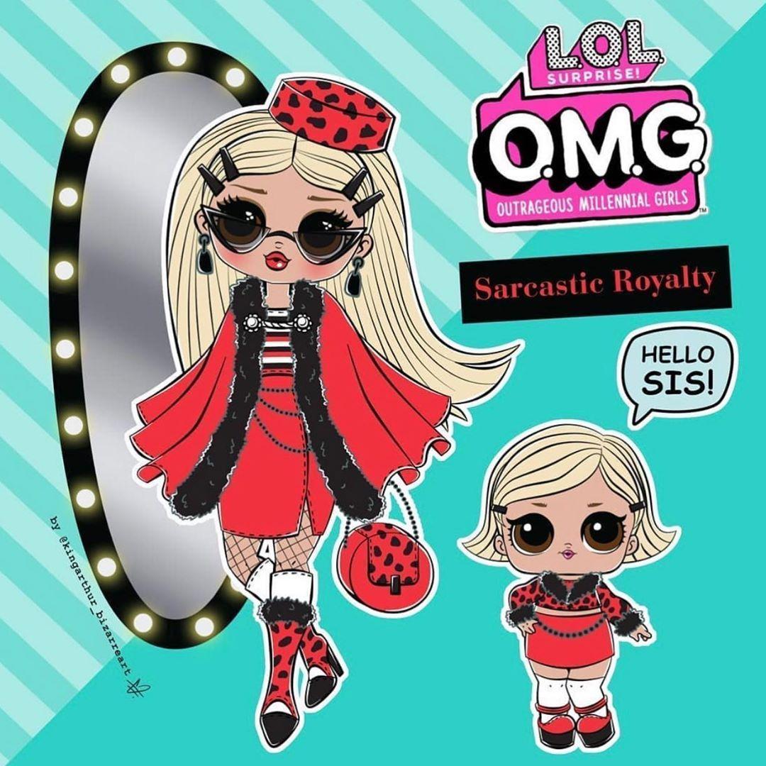 Sisters Play On Instagram Gorgeous Omg Doll Art By Kingarthur Bizarreart Lol Lolsurprise Lolomg Omg Lolsurpriseomg In 2020 Lol Dolls Cute Dolls Custom Dolls