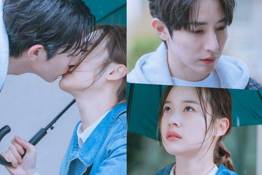 "Lee Soo Hyuk And Shin Do Hyun Share Heart-Fluttering Kiss In The Rain In ""Doom At Your Service"""