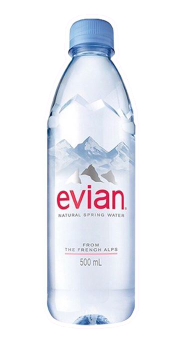 Pin By Amelie A On Use Png Bottle Natural Spring Water Evian Bottle