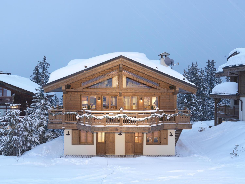 Lodge Marmotte in Courchevel 1650, France - White Blancmange