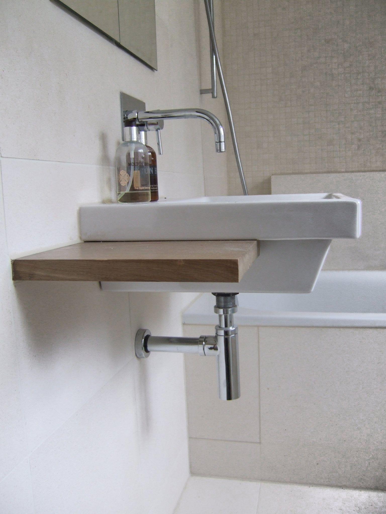 Pin On Exposed Plumbing Bathroom vanity exposed plumbing
