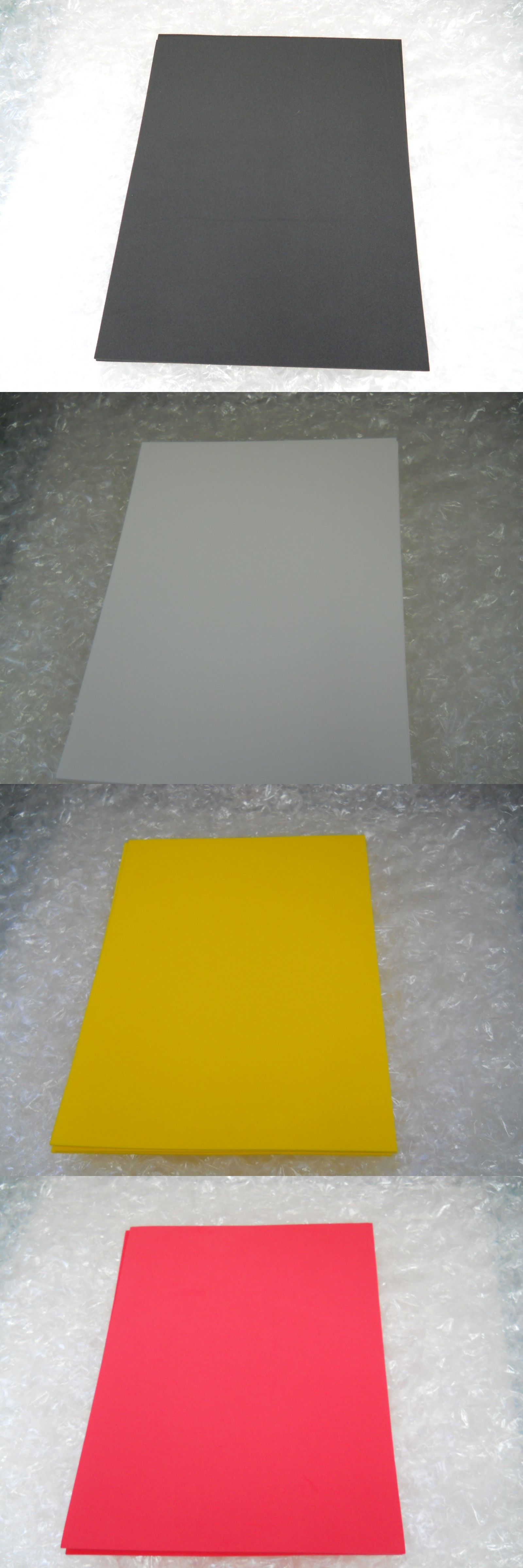 Styrofoam Forms 41200 3mm 1 8 6 Pcs Eva Craft Foam Sheets 12 X 18 More Than 15 Colors Buy It Now Only 10