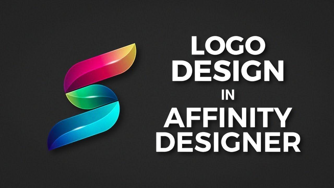 3D Letter S Design in Affinity Designer