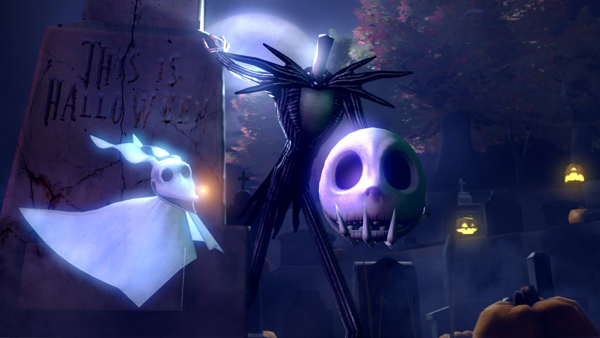 Cool Wallpaper Halloween Nightmare Before Christmas - 6b45209a3d4dcfdec1a983035081a5af  2018_94153.jpg