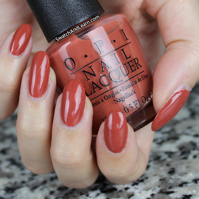 OPI Yank My Doodle is a mature burnt orange creme from the ...