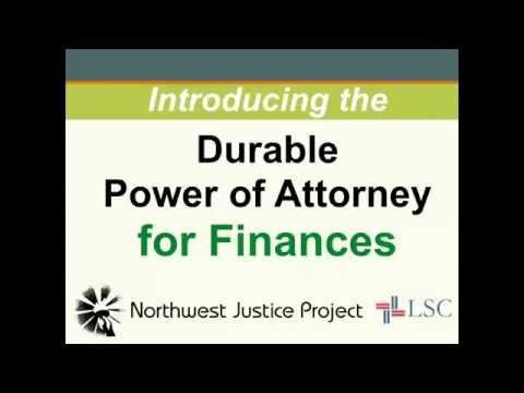 Introducing NjpS Durable Power Of Attorney For Finances  Http
