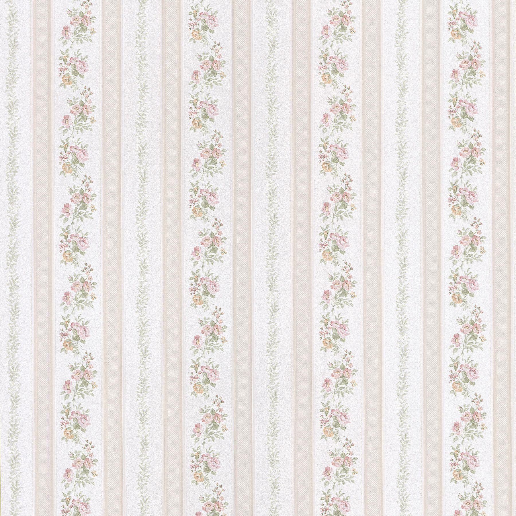"Bath Bath Bath Volume IV Merle 33' x 20.5"" Floral and Botanical 3D Embossed Wallpaper"
