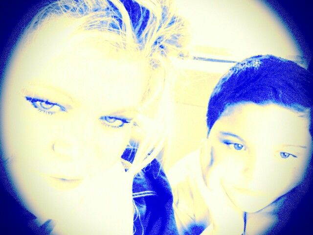 Me N my baby:-) :-)
