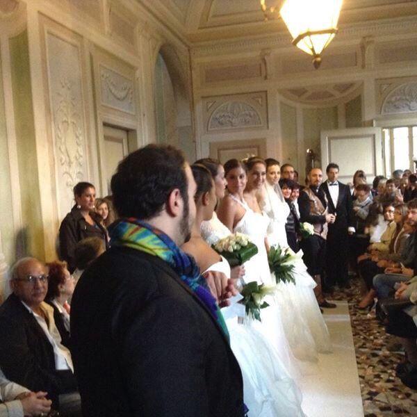 Immagini di sogni avverati Alessandro Tosetti Www.alessandrotosetti.com www.tosettisposa.it #abitidasposa2015 #wedding #weddingdress #tosetti #tosettisposa #nozze #bride #alessandrotosetti #agenzia1870