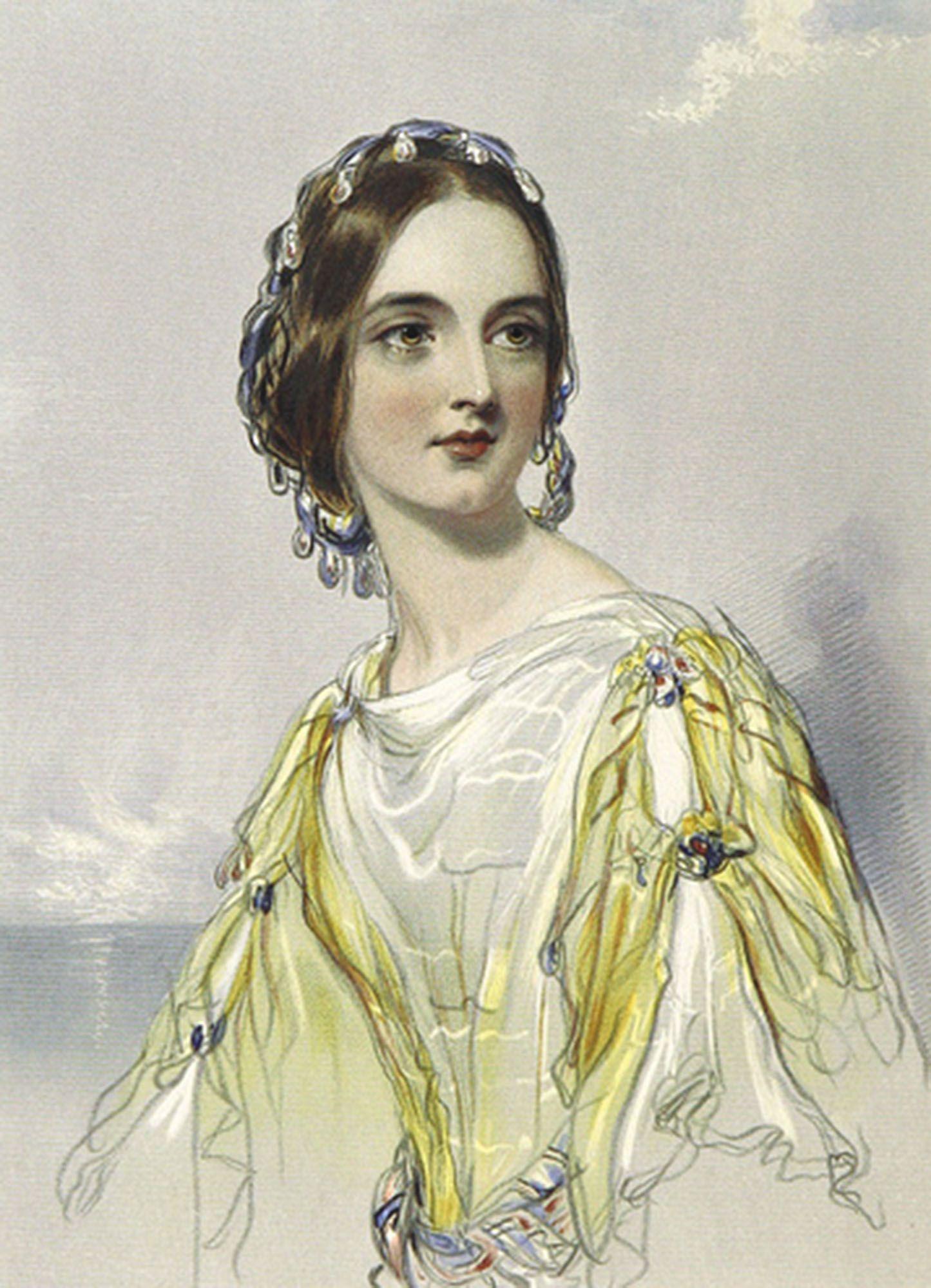 Yellow dress for women  Woman Half Portrait Wearing a Yellow Dress  Vintage Women Images