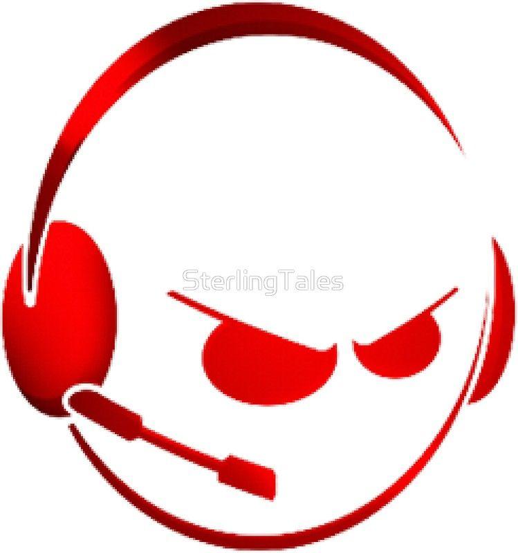 Gaming emoji wearing headphones | Sticker | crafts