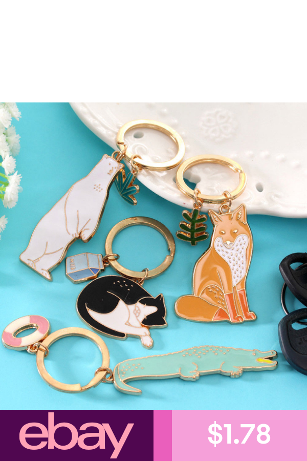 Keychains Clothing, Shoes, Accessories | Animal key rings ...