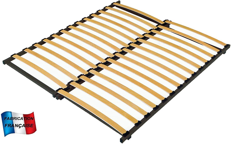 Meublepro Lattenrost Ausziehbar Von 90 Bis 160 Cm L180 185 Amazon
