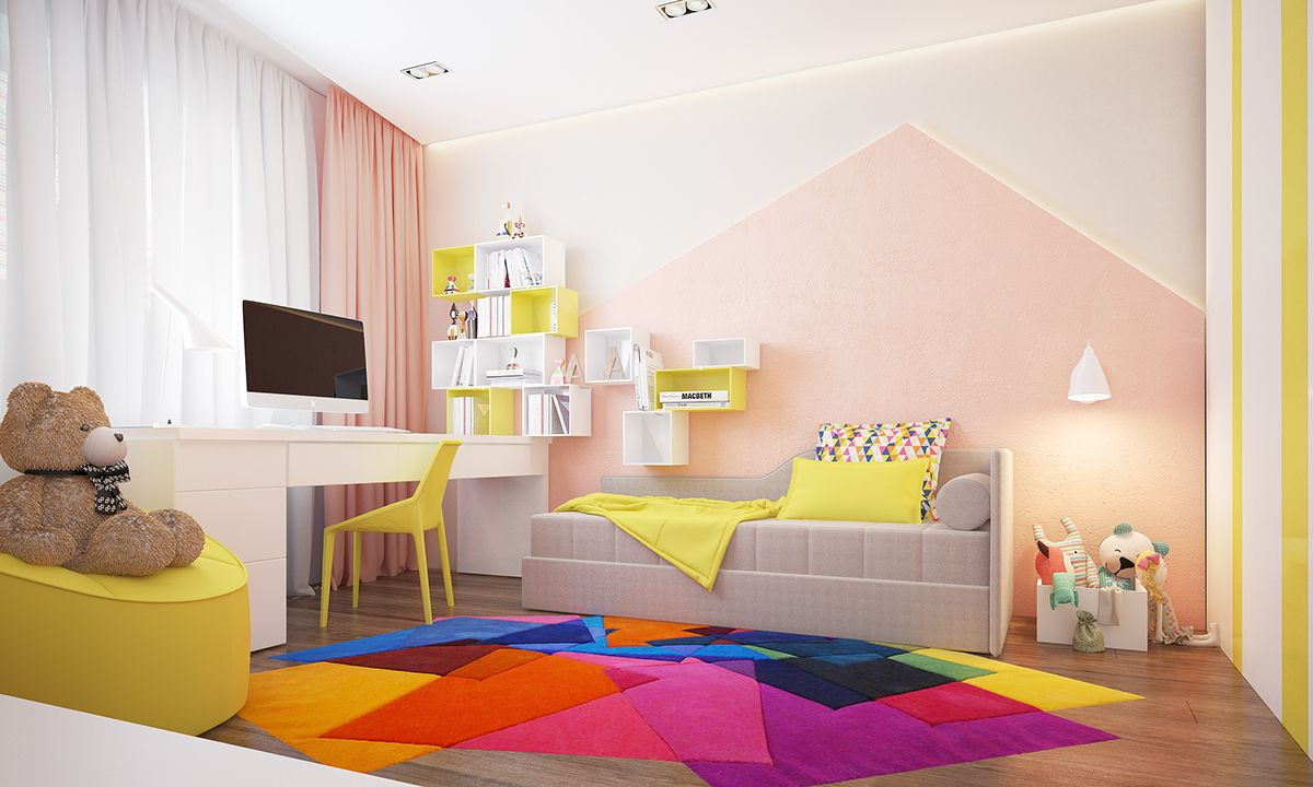 Two Homes with Colorful Kids Rooms Included Baby room