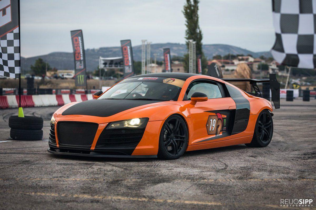 National Geographic Show Megabuild Has Tuned A 2008 R8 V8 Coupe Into A Gymkhana Grid Spec Drift Car 2016 National Geographic Shows Grid Drifting Cars