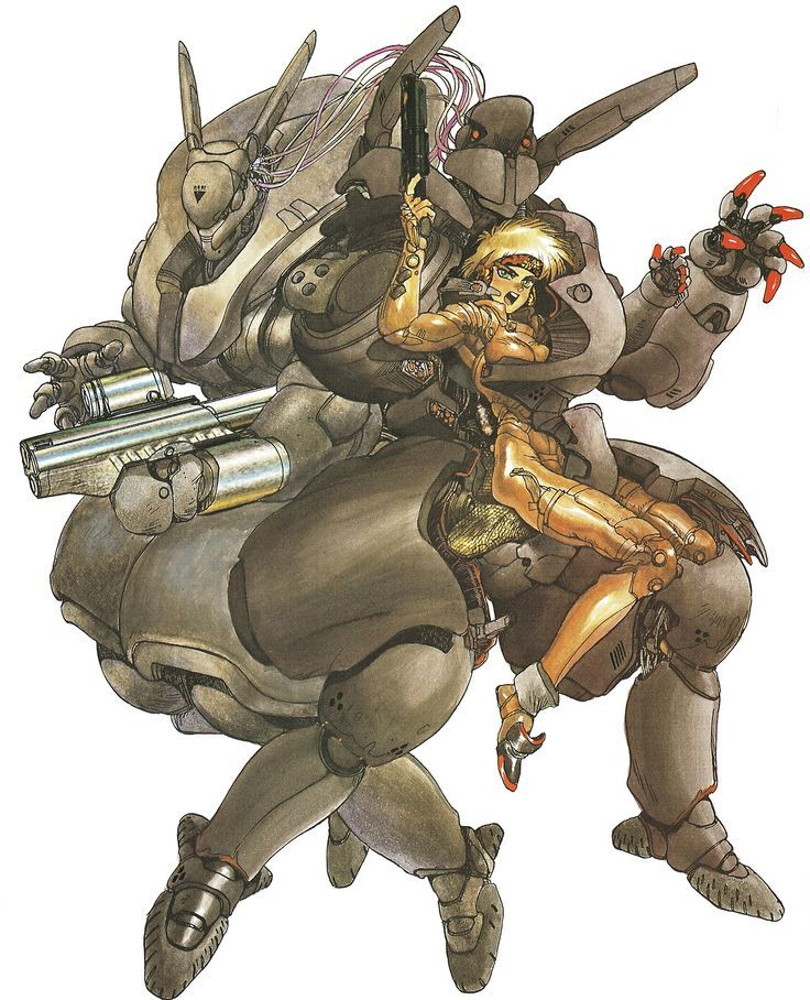 Appleseed Character Design : Appleseed by shirow masamune artist