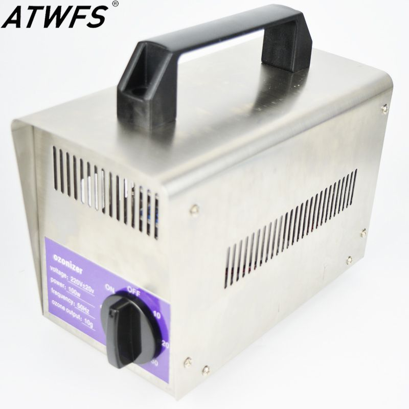 Atwfs Super 10g Ozone Generator 220v 110v Water Air Purifier Air