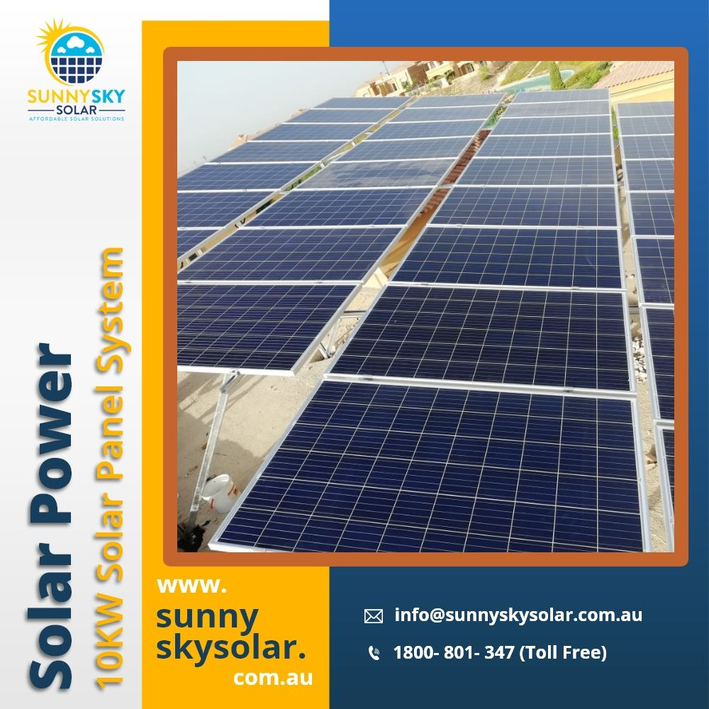 10kw Solar Panel System Solar Power Systems In Brisbane Sunny Sky Solar In 2020 Solar Solar Power System Solar Panels