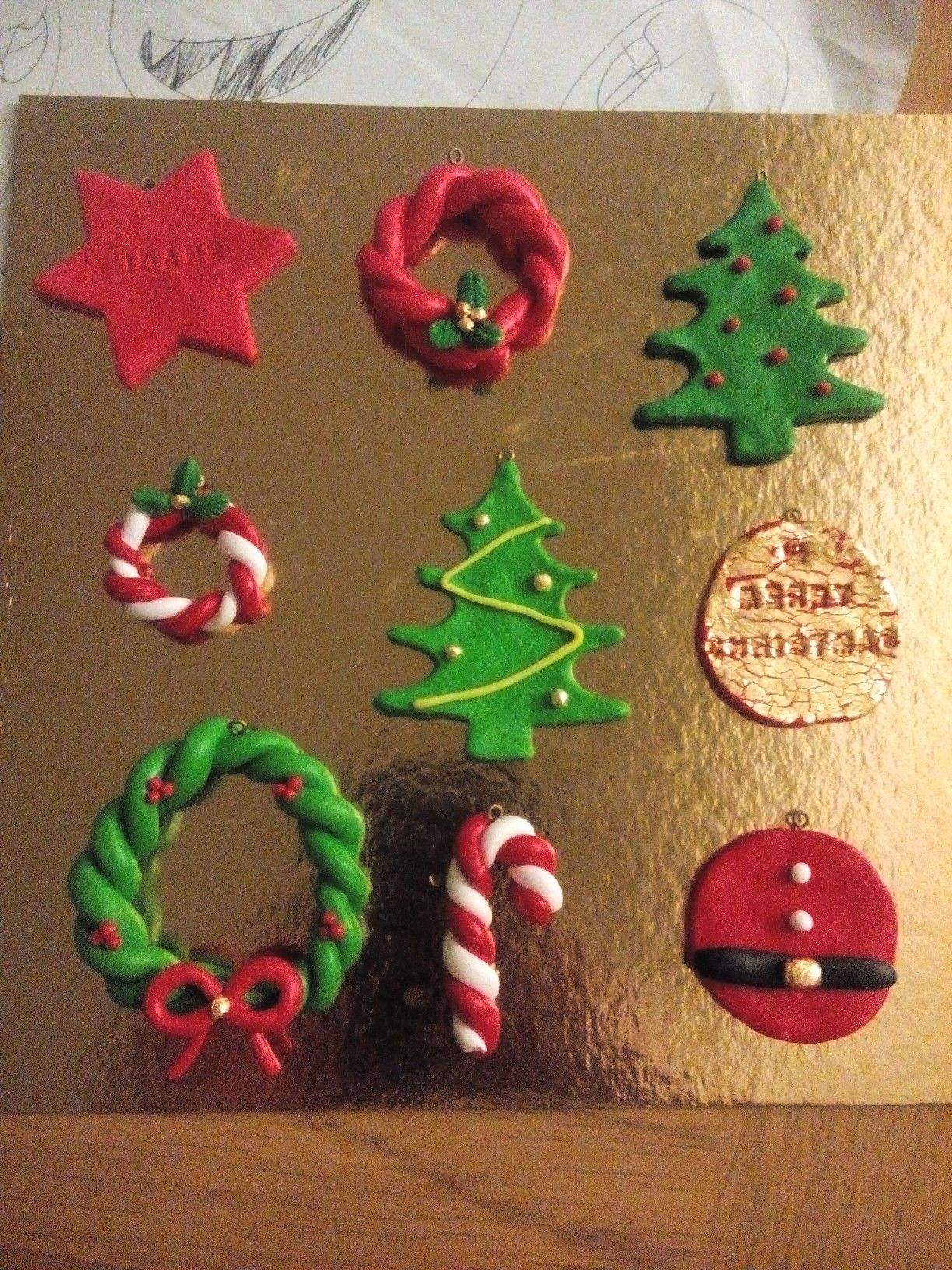 For Sale Polymer Clay Fimo Christmas Charms And Decoration Contact Fb Or Instagram Lt Clay Christmas Decorations Christmas Clay Polymer Clay Christmas