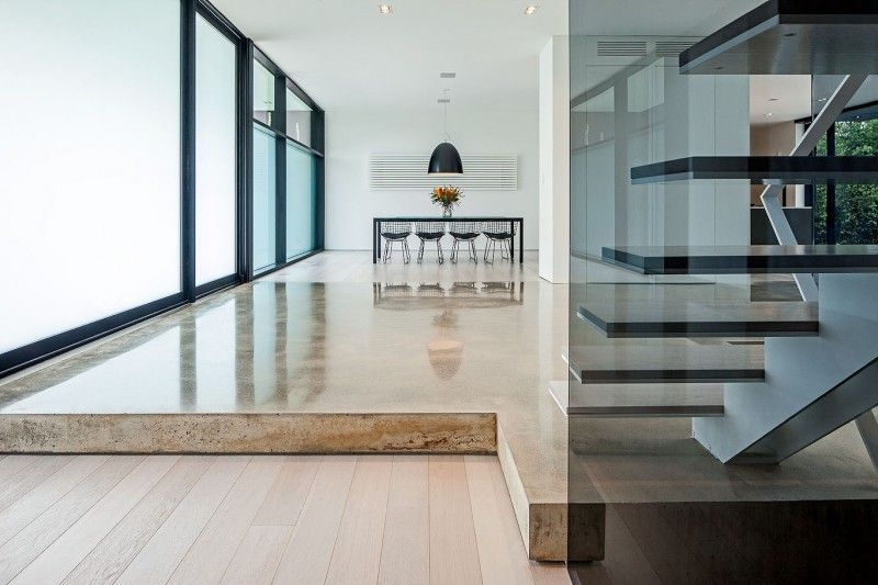 stone AND wooden flooring!