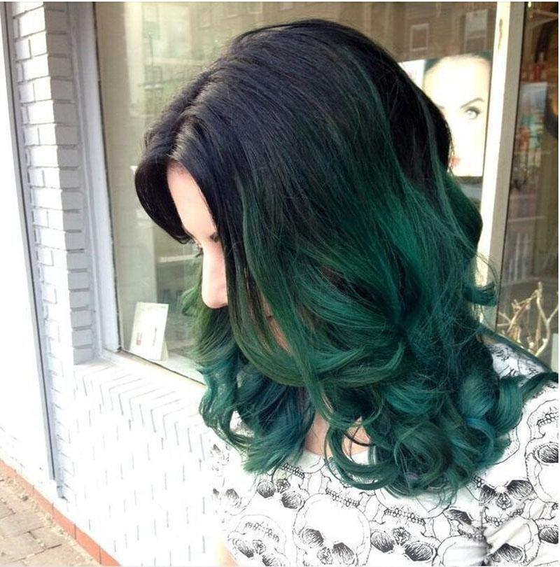 Dark Green Hair Sok Pa Google Cabello Verde Color De Pelo Oscuro Color De Cabello