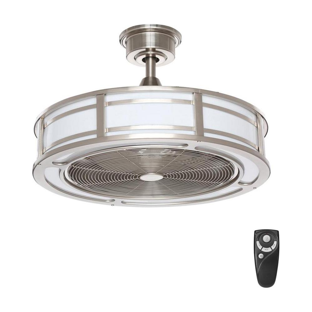 World Imports Cozette Collection 24 In Satin Nickel Indoor Ceiling Fan 27395 Wi At The Home Depot Mo Ceiling Fan With Remote Ceiling Fan Ceiling Fan Bedroom
