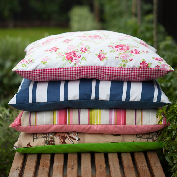 We had soo many requests for cushions to use inside the Teepees - so here they are!    Size is 70cm x 70cm    Available in matching colours to our Teepees - blue stripe, pink stripe, girly girl and cowboy.    Removable cover for washing.    Make your kids teepee super comfy with these cosy cushions inside!