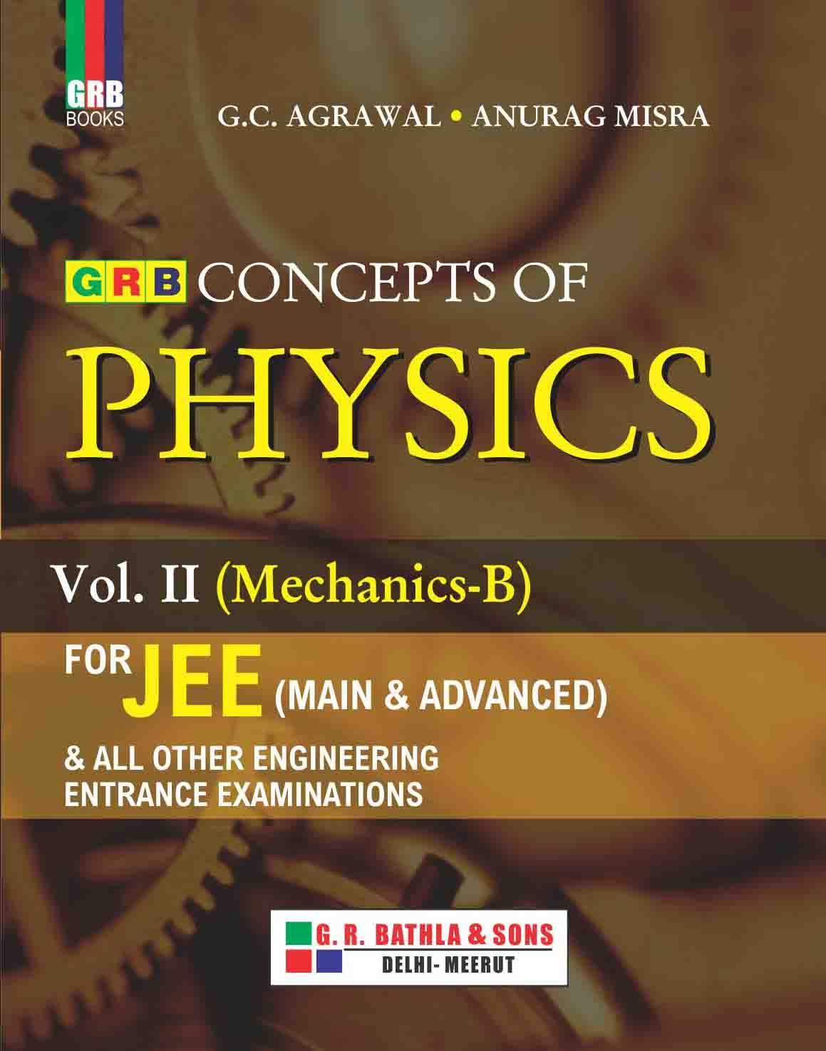 Concept of physics vol 2 mechanicsb physics mechanic